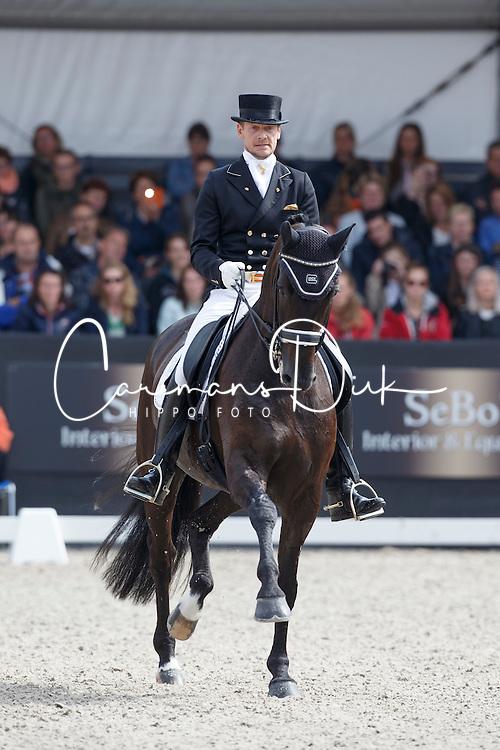 Gal Edward, (NED), Glock's Undercover<br /> Kingsley Donadeo Prijs grand Prix Kur<br /> Dutch Championship Dressage - Ermelo 2015<br /> © Hippo Foto - Dirk Caremans<br /> 19/07/15