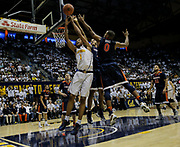 Dec 21 2016 - Berkeley, CA, USA :  California forward Ivan Rabb (1) scored 9 points, 12 rebounds and 2 assist during NCAA Men's Basketball game between Virginia Cavaliers and the California Golden Bears 52-56 lost at Hass Pavilion Berkeley Calif. Thurman James / CSM