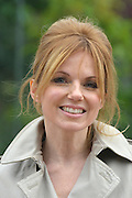 © Licensed to London News Pictures. 20/03/2013. London, UK. Geri Halliwell at London Zoo today. Tiger Territory, a £3.6m project, at ZSL London Zoo. It is home to Jae Jae and Melati, Europe's most genetically important pair of Sumatran tigers who were matched by the global breeding programme for the critically endangered species. Representing a wild population of just 300 individuals, Jae Jae and Melati travelled more than 14,000 miles from opposite ends of the earth to be paired at Tiger Territory. . Photo credit : Stephen Simpson/LNP