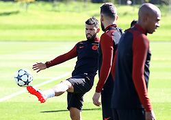Sergio Aguero of Manchester City trains - Mandatory by-line: Matt McNulty/JMP - 23/08/2016 - FOOTBALL - Manchester City - Training session ahead of Champions League qualifier against Steaua Bucharest