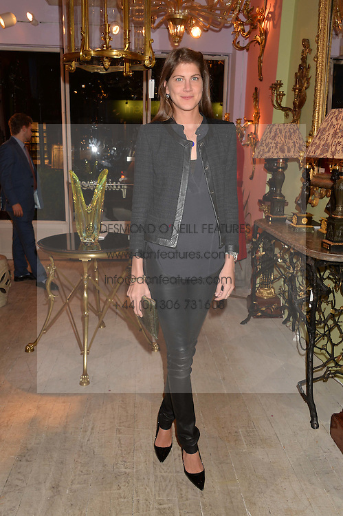 PRINCESS FLORENCE TOLLEMACHE at a party at Guinevere 574-580 ing's Road, London on 7th October 2014.