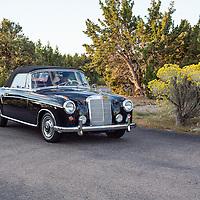 1960 Mercedes-Benz 220 SE Cabriolet, 2012 Santa Fe Concorso High Mountain Tour.