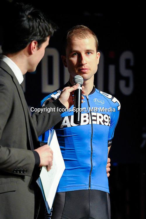 Cesar Bihel - 23.01.2015 - Presentation Auber 93<br />Photo : Andre Ferreira / Icon Sport