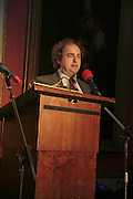 ALEXANDER WAUGH, Literary Review's Bad Sex In Fiction Prize.  In & Out Club (The Naval & Military Club), 4 St James's Square, London, SW1, 29 November 2006. <br />