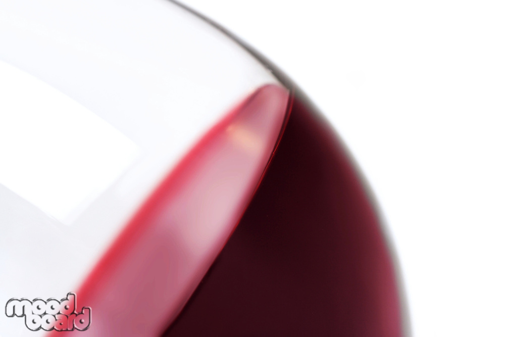 Close-up of glass with red wine