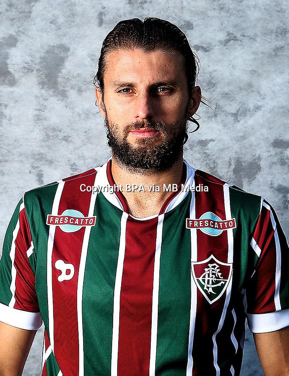 Brazilian Football League Serie A / <br /> ( Fluminense Football Club ) - <br /> Henrique Adriano Buss &quot; Henrique &quot;
