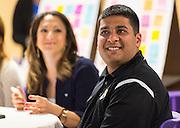 Principal Rupak Gandhi participates in a design charrette for Houston MSTC, April 24, 2015.
