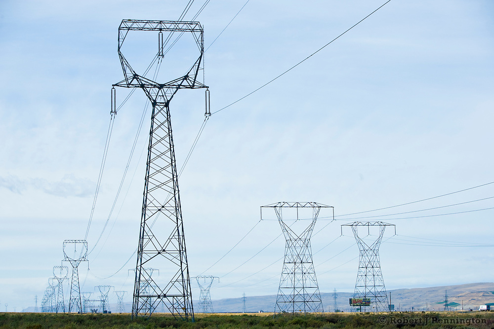 Electrical transmission lines stand like sentinels guarding the Western landscape, sending power to thousands of homes and businesses.