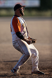 Will Musson (#26) reacts after the final out of the 2015 French Finals first game.