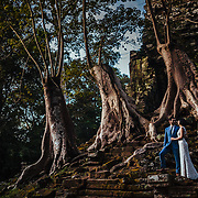Abbey and Ben's destination wedding in Siem Reap, Cambodia.
