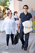 12.AUGUST.2011. ST. TROPEZ<br /> <br /> BERNADETTE CHIRAC, WIFE OF THE FORMER FRENCH PRESIDENT, OUT AND ABOUT WITH HER GRANDSON MARTIN IN ST TROPEZ.<br /> <br /> BYLINE: EDBIMAGEARCHIVE.COM<br /> <br /> *THIS IMAGE IS STRICTLY FOR UK NEWSPAPERS AND MAGAZINES ONLY*<br /> *FOR WORLD WIDE SALES AND WEB USE PLEASE CONTACT EDBIMAGEARCHIVE - 0208 954 5968*