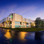 Exterior Images of FedEx Ground Burbank Facility Industrial Infrastructure- Architectural Photography Example of Chip Allen's work.