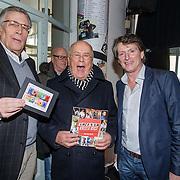 NLD/Hilversum/20150102 - Top40 viert 50 jarig bestaan, Jan van Veen, Willem van Kooten en Erik de Zwart