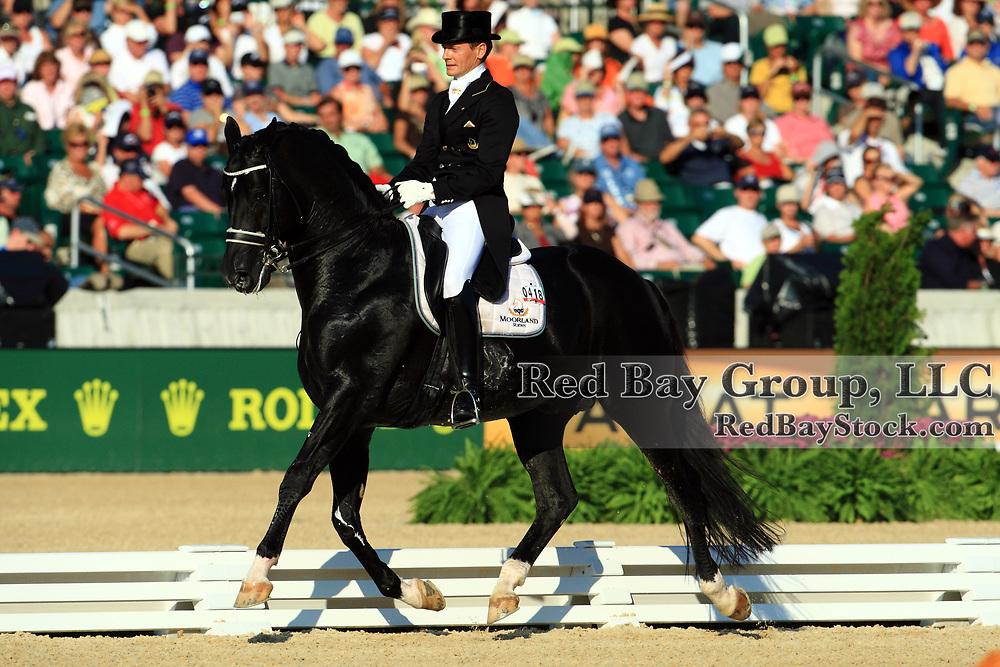 Edward Gal and Moorlands Totilas at the 2010 Alltech FEI World Equestrian Games, Lexington, Kentucky.