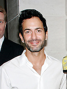 Marc Jacobs poses at 'The Model as  Muse: Embodying Fashion' Press conference at the Costume Institute in the Metropolitan Museum of Art  New York City, USA on May 4, 2009