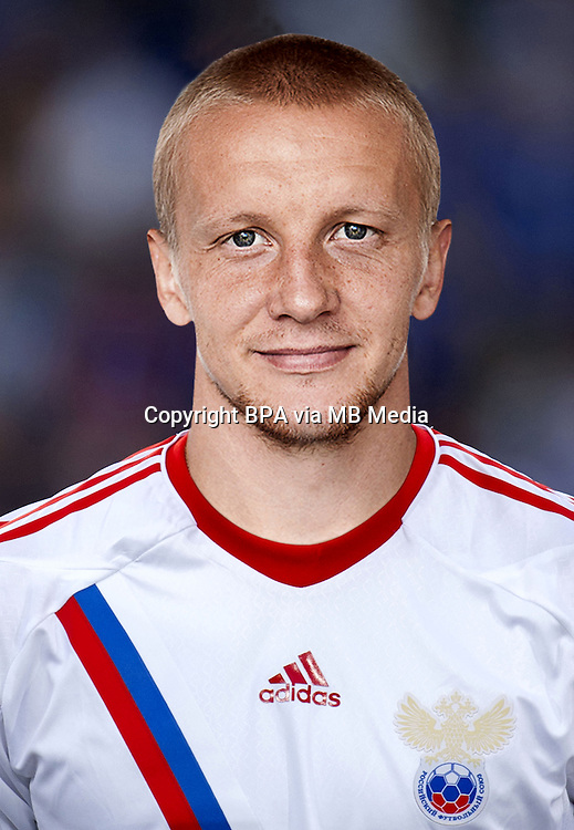 Football Fifa Brazil 2014 World Cup / <br /> Russia National Team - <br /> Igor Smolnikov of Russia