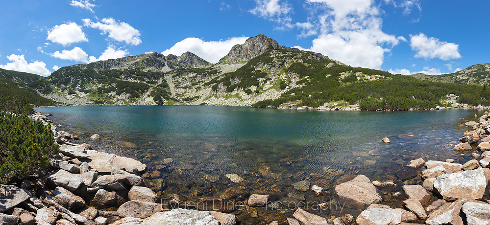 Yakurudki lakes in Rila Mountain