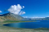 Inde, Province du Jammu Cachemire,  Ladakh, Plateau du Changtang, Nomade Chang-Pa en fête, lac Tsomoriri // India, Province of Jammu Cachemire, Ladakh, Changtang, Nomads Chang-Pa festival, Tsomoriri lake