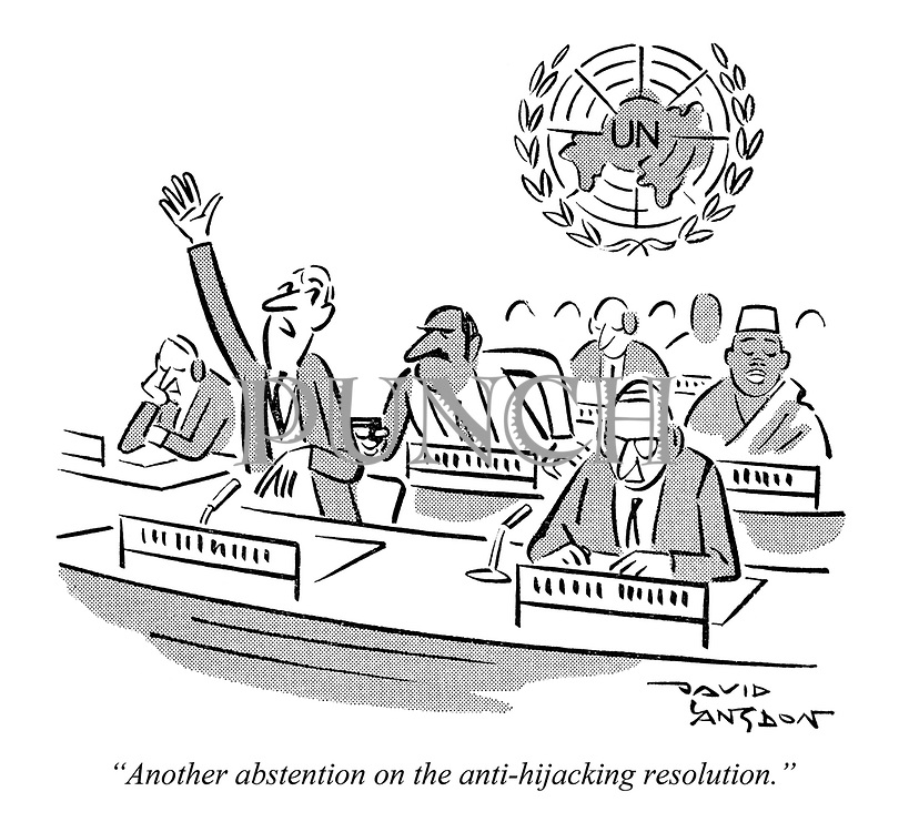 """Another abstention on the anti-hijacking resolution."""