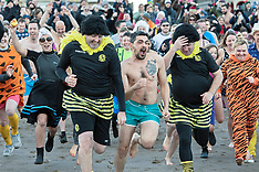 Loony Dook , Portobello,  Edinburgh, 1 January 2019