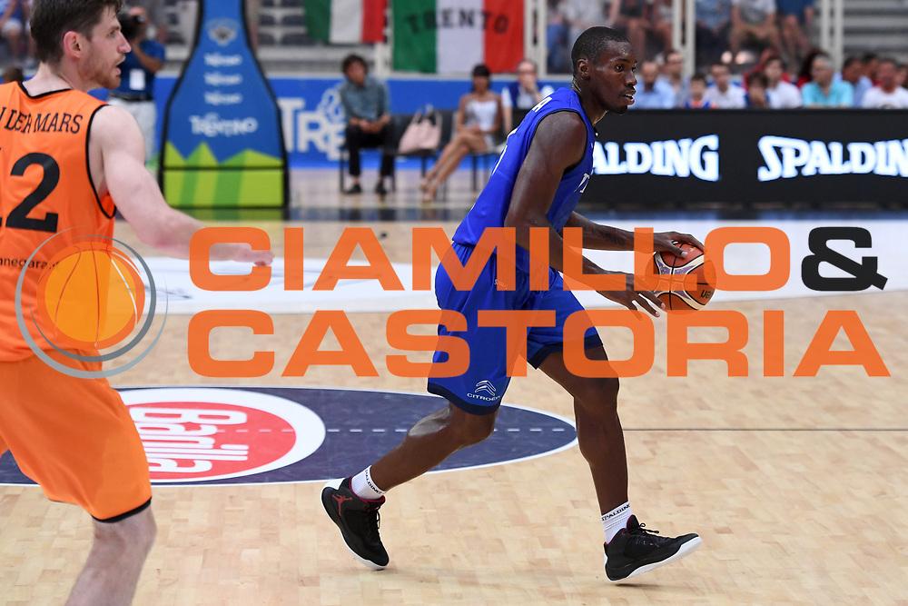 Paul Stephane Biliga<br /> Nazionale Italiana Maschile Senior - Trentino Basket Cup 2017<br /> Italia - Paesi Bassi Italy - Netherlans<br /> FIP 2017<br /> Trento, 30/07/2017<br /> Foto M.Ceretti / Ciamillo-Castoria