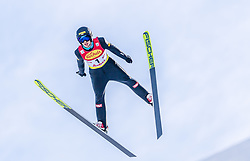 31.01.2020, Seefeld, AUT, FIS Weltcup Nordische Kombination, Skisprung, im Bild Manuel Einkemmer (AUT) // Manuel Einkemmer of Austria during Skijumping Competition of FIS Nordic Combined World Cup at the Seefeld, Austria on 2020/01/31. EXPA Pictures © 2020, PhotoCredit: EXPA/ Stefan Adelsberger