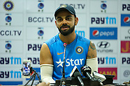 Cricket - India nets and press conference at Ranchi