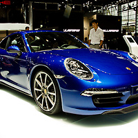 Porsche 911 Carrera 4S (2013) at the Paris Motor Show 2012