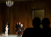 """Brian McEleney (Lear, King of Britain) and Abbey Siegworth (Cordelia) perform in Shakespeare's """"King Lear"""" at the Dallas Theater Center on Wednesday, January 23, 2013 in Dallas, TX. (Cooper Neill/The Dallas Morning News)"""