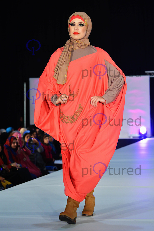Covered & Proud, Saverah Islamic Fashion Weekend, Global Peace & Unity Event, Excel, London UK, 23 November 2013, Photo by See Li