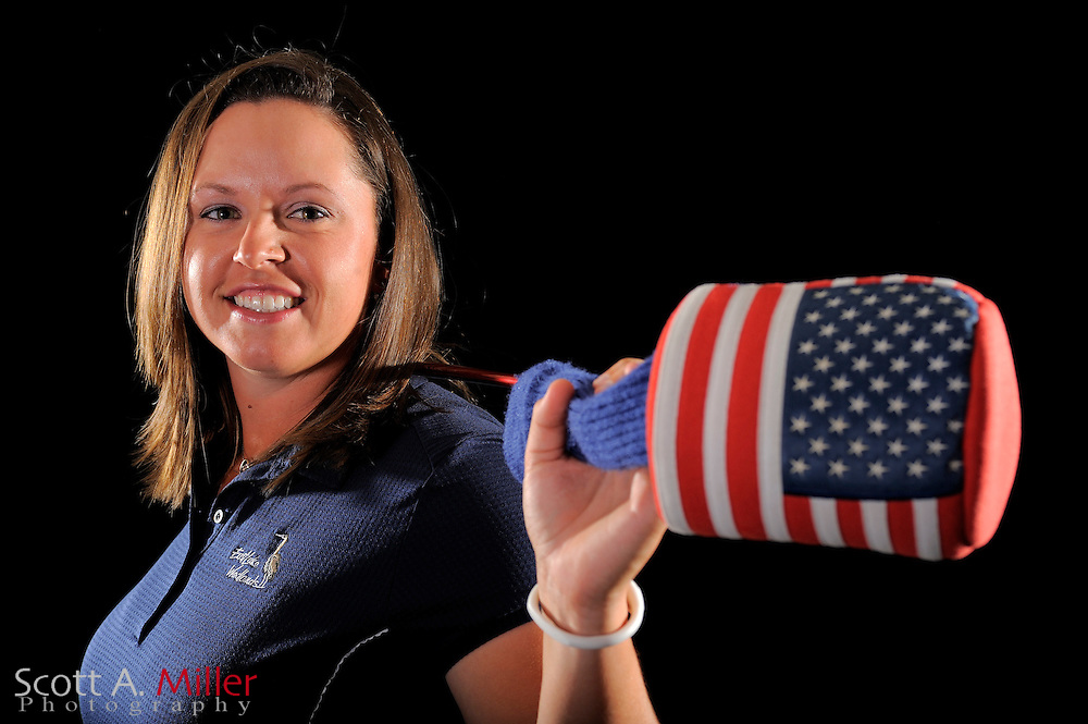 Laura Bavaird during a portrait shoot prior to the LPGA Future Tour's Daytona Beach Invitational at LPGA International's Championship Courser on March 28, 2011 in Daytona Beach, Florida... ©2011 Scott A. Miller