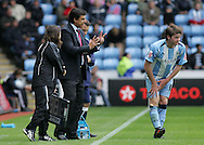Coventry - Saturday August 9th, 2008: Chris Coleman, manager of Coventry City, during the Coca Cola Championship match against Norwich City at The Ricoh Arena, Coventry. (Pic by Michael Sedgwick/Focus Images)