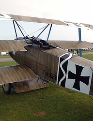 German Fokker, 1917, The Great War, 1914-18 Aircraft, , The Duxford Air Show, 14th September 2014