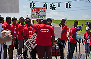 Coalition Agianst Death Alley march in St. John the Baptist Parish  on May 30, 2019- the first strech of a planned five day event.