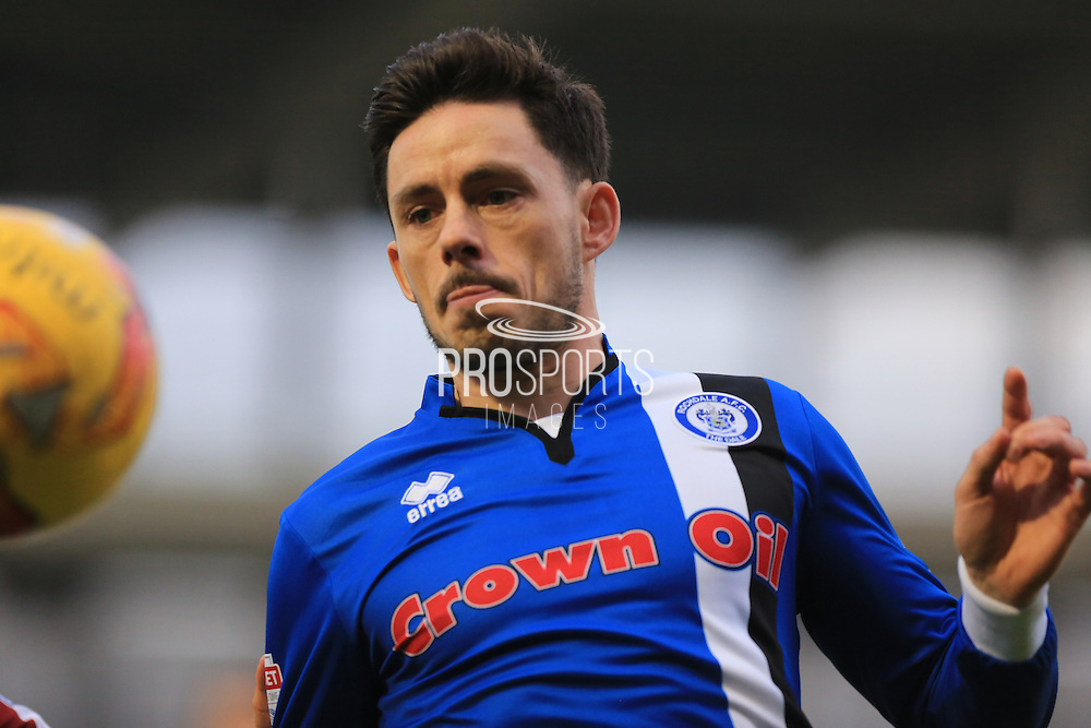 Ian Henderson during the EFL Sky Bet League 1 match between Northampton Town and Rochdale at Sixfields Stadium, Northampton, England on 17 December 2016. Photo by Daniel Youngs.