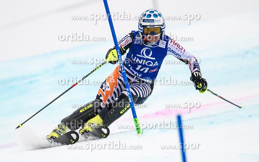 29.12.2013, Hochstein, Lienz, AUT, FIS Weltcup Ski Alpin, Lienz, Slalom, Damen, 1. Durchgang, im Bild Nathalie Eklund (SWE) // during the 1st run of ladies slalom Lienz FIS Ski Alpine World Cup at Hochstein in Lienz, Austria on 2013/12/29, EXPA Pictures © 2013 PhotoCredit: EXPA/ Michael Gruber