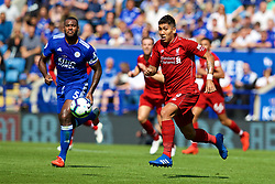 LEICESTER, ENGLAND - Saturday, September 1, 2018: Liverpool's Roberto Firmino during the FA Premier League match between Leicester City and Liverpool at the King Power Stadium. (Pic by David Rawcliffe/Propaganda)