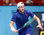 LUCAS POUILLE (FRA)<br /> <br /> Tennis - ERSTE BANK OPEN 2017 - ATP 500 -  Stadthalle - Wien -  - Oesterreich  - 28 October 2017. <br /> © Juergen Hasenkopf