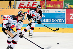 02.11.2012, Hostan Arena, Znojmo, CZE, EBEL, HC Orli Znojmo vs SAPA Fehervar, 18. Runde, im Bild Juraj Roznikl (Znojmo #66) // during the Erste Bank Icehockey League 18nd round match betweeen HC Orli Znojmo and SAPA Fehervar at the Hostan Arena, Znojmo, Czech Republic on 2012/11/02. EXPA Pictures © 2012, PhotoCredit: EXPA/ Rostislav Pfeffer