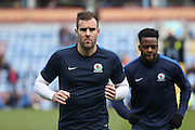Blackburn Rovers defender Tommy Spurr (3)  during the Sky Bet Championship match between Burnley and Blackburn Rovers at Turf Moor, Burnley, England on 5 March 2016. Photo by Simon Davies.