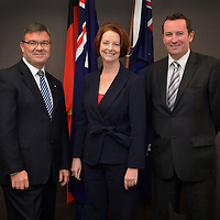 Gary Gray-Prime Minister Visit-18Apr12