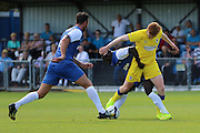 AFC Wimbledon midfielder Alfie Eagan (28) during the Pre-Season Friendly match between Margate and AFC Wimbledon at Hartsdown Park, Margate, United Kingdom on 16 July 2016. Photo by Stuart Butcher.