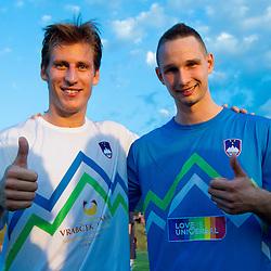 20120622: SLO, Football - Dobrodelna tekma Tima Matavza in Valterja Birse