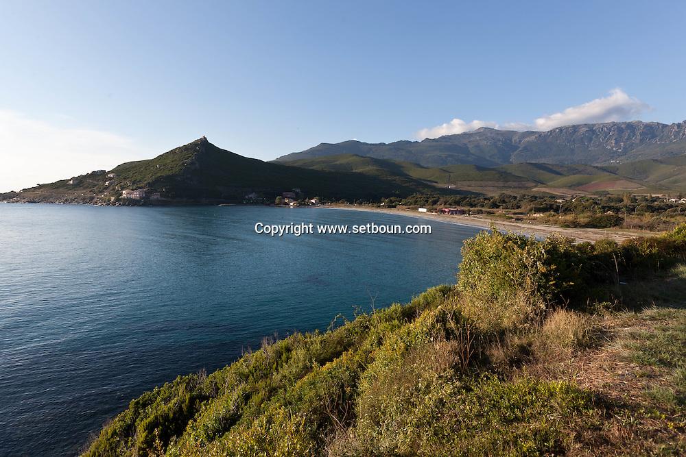 Corsica. France. Petracorbara marine  in Cap Corse, Corsica North, France / marine de Petracorbara au cap Corse