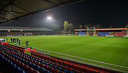 The Stadium during the The FA Cup match between Aldershot Town and Portsmouth at the EBB Stadium, Aldershot, England on 19 November 2014.