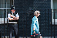 Downing Street, London, UK. 22nd July 2014. Ministers attend the weekly cabinet meeting at 10 Downing Street in London. Pictured: THERESA MAY.