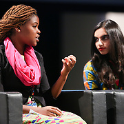 03 June 2015 - Belgium - Brussels - European Development Days - EDD - Special Event - A more connected , contested and complex world is in your hands - A conversation with Federica Mogherini and Sam Kutesa - Catherine Mloza Banda , Shakira Choonara , Future leaders  © European Union