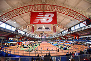 Feb 9, 2019; New York, NY, USA; General overall view  of the 112th Millrose Games at The Armory.