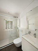 interior of new apartment, <br /> modern bathroom