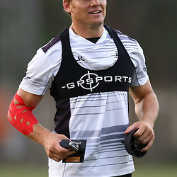 DURBAN, SOUTH AFRICA,7,MARCH, 2016 - Joe Pietersen during The Cell C Sharks training session  at Growthpoint Kings Park in Durban, South Africa. (Photo by Steve Haag)<br /> <br /> images for social media must have consent from Steve Haag